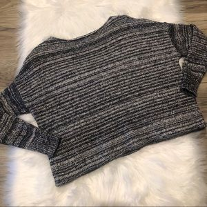 Madewell Black White Sweater Size Small